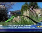 Utah City Demand Kids Tear Down Cardboard Fort Or Get Fined