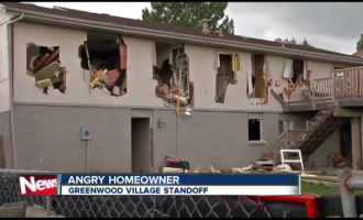 "SWAT Demolishes Man's Home ""With A Tank"" and Explosives in Pursuit of a Shoplifting Suspect"