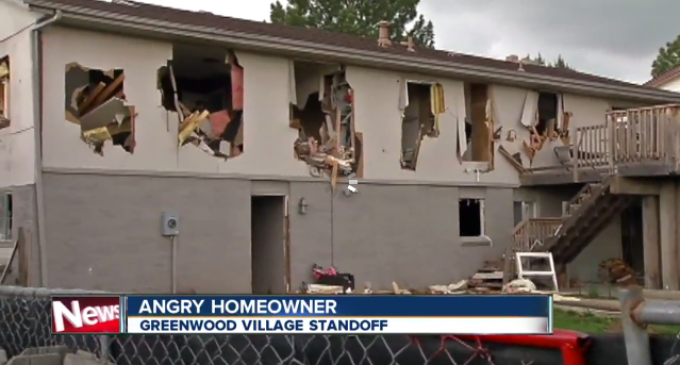 """SWAT Demolishes Man's Home """"With A Tank"""" and Explosives in Pursuit of a Shoplifting Suspect"""