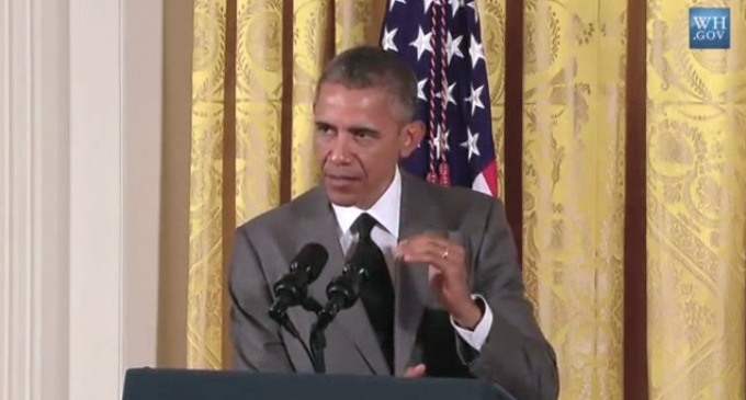 Obama Claims To Have Restored The US To Being The 'Most Respected Country In The World'