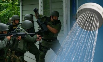 SWAT Yanks 11-yo Girl from Shower, Holds Family At Gunpoint In Home With No Suspects