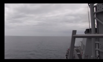 Navy Releases Video Of Russian Warplane Brazenly Buzz US Destroyer