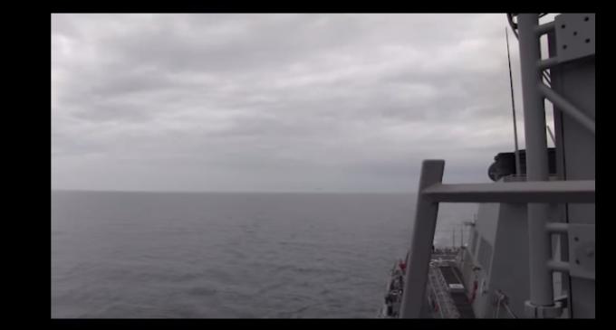 Navy Releases Video Of Russian Warplane Brazenly Buzz US Destroyer